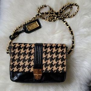 Badgley Mischka leather cross body handbag